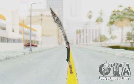 Nata Weapon para GTA San Andreas tercera pantalla