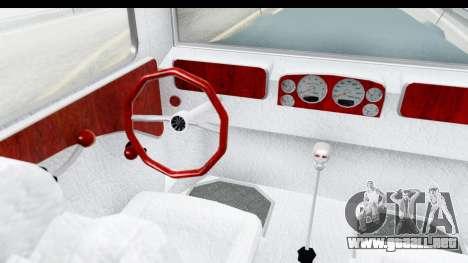 Unique V16 Fordor para visión interna GTA San Andreas