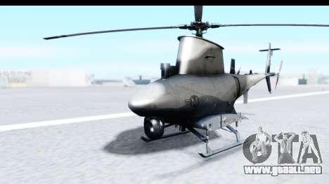 Northrop Grumman MQ-8B Fire Scout para GTA San Andreas