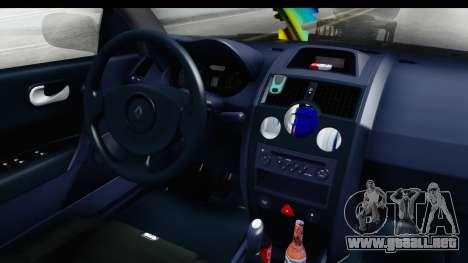 Renault Megane Sport para visión interna GTA San Andreas