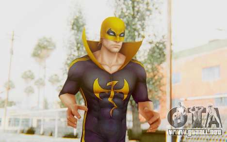Marvel Future Fight - Iron Fist (ANAD) para GTA San Andreas