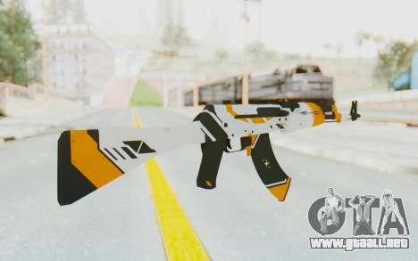 CS:GO - AK-47 Asiimov para GTA San Andreas segunda pantalla