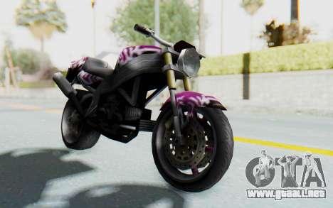 FCR-900 Custom v2 para la visión correcta GTA San Andreas