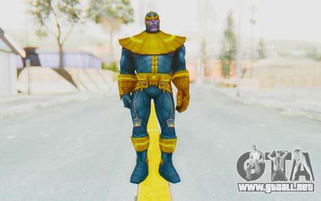 Marvel Future Fight - Thanos para GTA San Andreas segunda pantalla