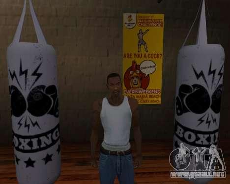 Pera De Boxeo para GTA San Andreas