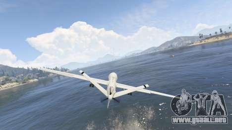 GTA 5 MQ-9 Reaper UAV 1.1 séptima captura de pantalla