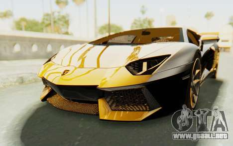 Lamborghini Aventador LP700-4 Light Tune para GTA San Andreas