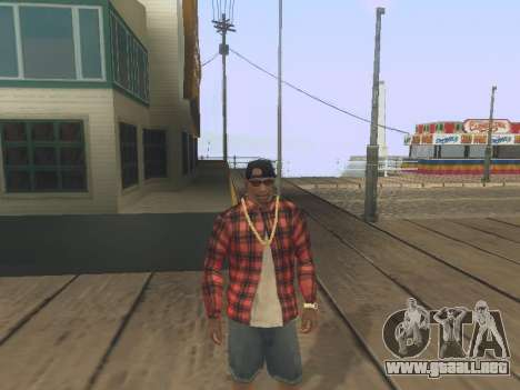 ENB Series for TheSergoRio for weak PC para GTA San Andreas tercera pantalla