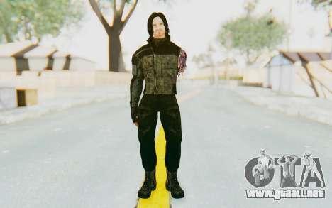 Bucky Barnes (Winter Soldier) v2 para GTA San Andreas segunda pantalla