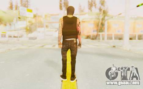 Punisher from GTA Online para GTA San Andreas tercera pantalla