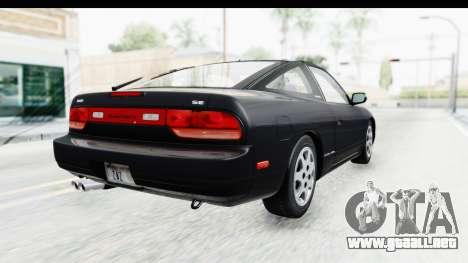 Nissan 240SX 1994 v2 para GTA San Andreas left