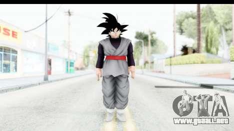 Dragon Ball Xenoverse Goku Black para GTA San Andreas segunda pantalla