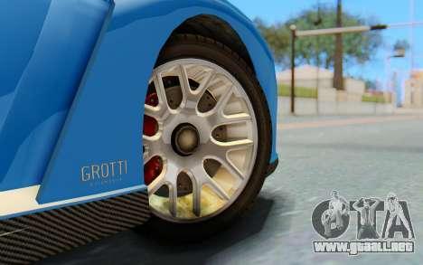 GTA 5 Grotti Cheetah SA Lights para la visión correcta GTA San Andreas