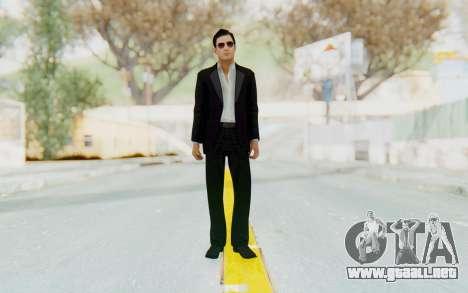 Mafia 2 - Vito Scaletta Madman Suit B&W para GTA San Andreas segunda pantalla