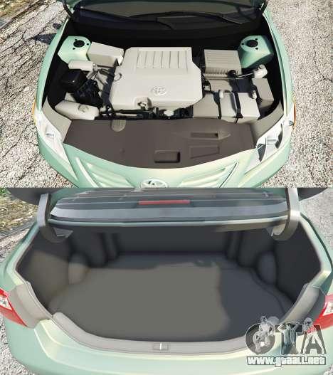 GTA 5 Toyota Camry V40 2008 [tuning] vista lateral derecha