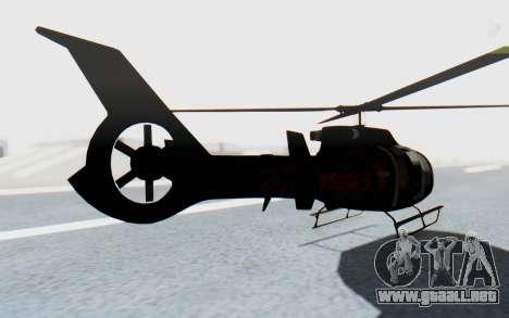 GTA 5 Maibatsu Frogger Trevor IVF para GTA San Andreas left