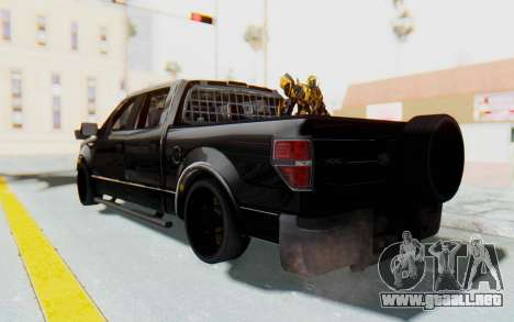 Ford F-150 JDM para GTA San Andreas left