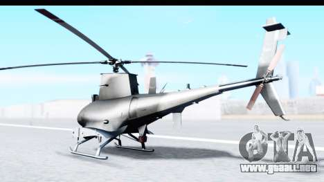 Northrop Grumman MQ-8B Fire Scout para GTA San Andreas left
