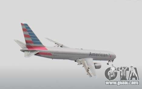Boeing 767-300ER American Airlines para la visión correcta GTA San Andreas