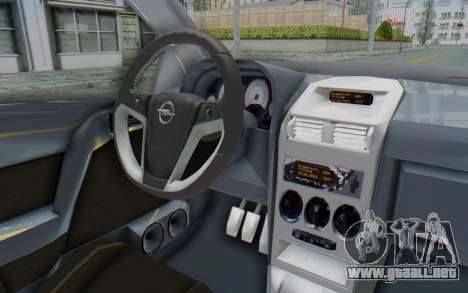 Opel Bertone para visión interna GTA San Andreas