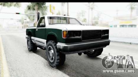 Yosemite Truck para GTA San Andreas