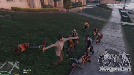 GTA 5 Zombies 1.4.2a sexta captura de pantalla
