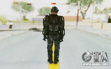 CoD Advanced Warfare ATLAS Soldier 1 para GTA San Andreas tercera pantalla