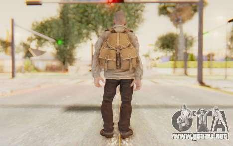 COD BO Russian Soldier v2 para GTA San Andreas tercera pantalla