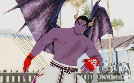 Devil Kazuya para GTA San Andreas