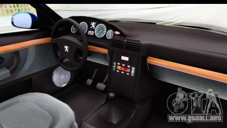 Peugeot 406 Cabrio Beta 0.8.3 para visión interna GTA San Andreas
