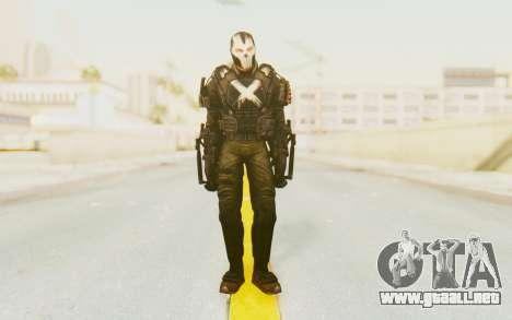 Marvel Heroes - Crossbones para GTA San Andreas segunda pantalla