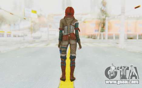 The Witcher 3 - Triss Merigold WildHunt Outfit para GTA San Andreas tercera pantalla