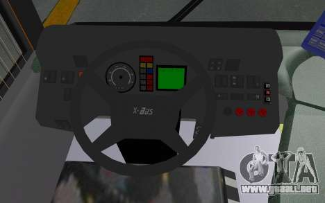 MAN Lion City 23267 para visión interna GTA San Andreas