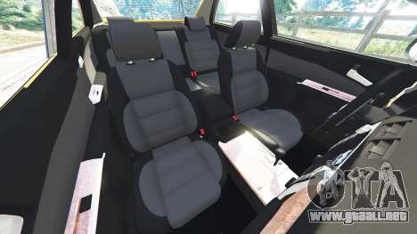 GTA 5 Toyota Camry V50 delantero derecho vista lateral