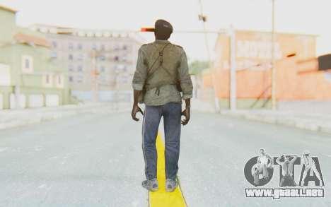 CoD MW3 Africa Militia v4 para GTA San Andreas tercera pantalla