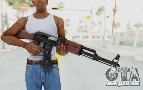 GTA 5 Shrewsbury Assault Rifle para GTA San Andreas