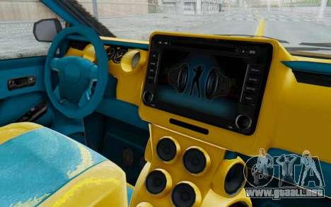 GTA 5 Vapid Minivan Custom IVF para visión interna GTA San Andreas