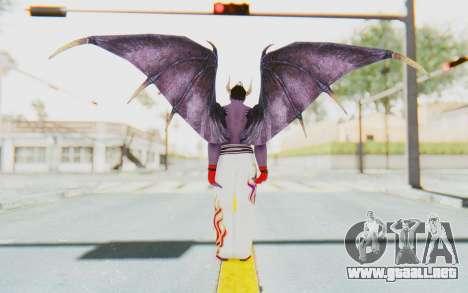 Devil Kazuya para GTA San Andreas tercera pantalla