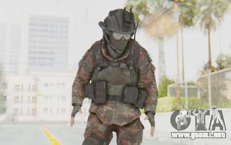 COD MW2 Russian Paratrooper v1 para GTA San Andreas