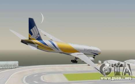 Boeing 777-300ER Singapore Airlines v2 para GTA San Andreas left
