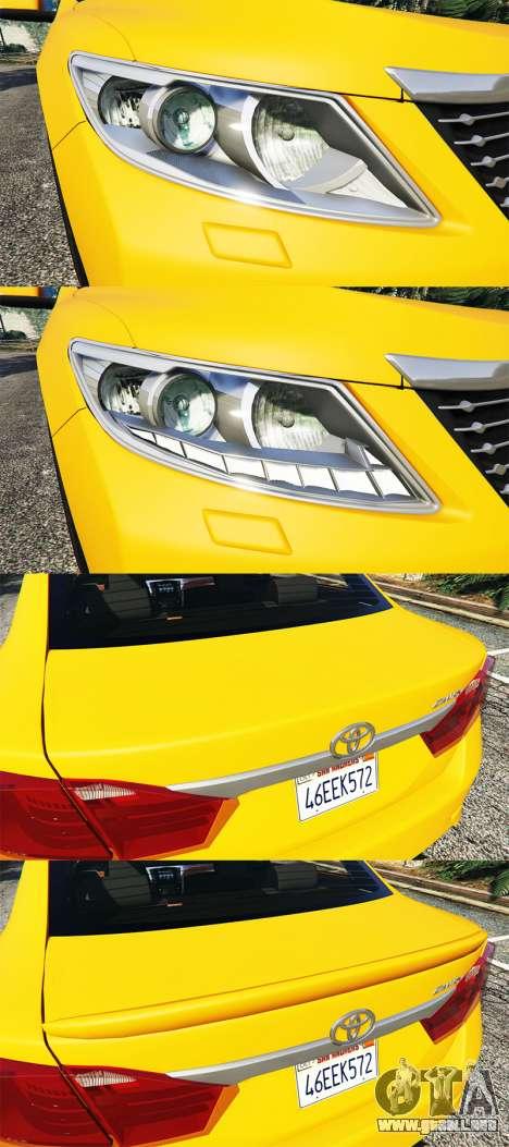 GTA 5 Toyota Camry V50 volante