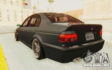 BMW M5 E39 M-Tech USDM para GTA San Andreas left