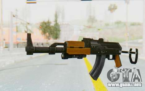 APB Reloaded - N TEC-5 para GTA San Andreas segunda pantalla