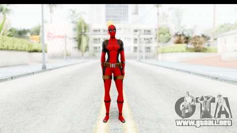 Marvel Heroes - Lady Deadpool para GTA San Andreas segunda pantalla