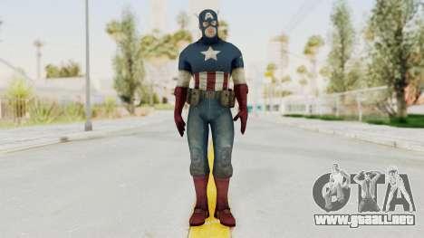 Captain America Super Soldier Classic para GTA San Andreas segunda pantalla