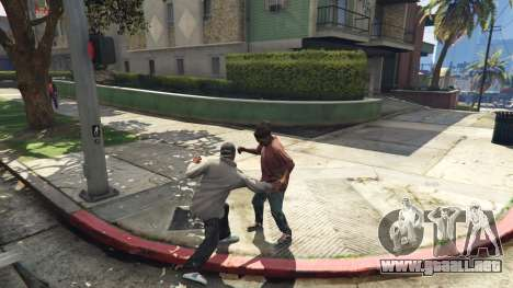 GTA 5 Rongines needle tercera captura de pantalla