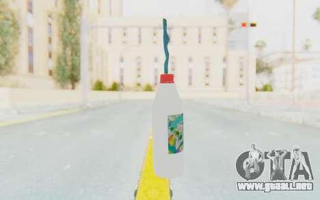 Hatsuni Miku Molotov para GTA San Andreas segunda pantalla