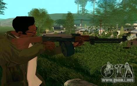 El PKK para GTA San Andreas segunda pantalla