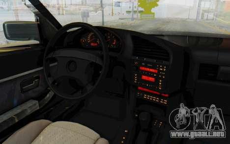 BMW 325tds E36 para visión interna GTA San Andreas