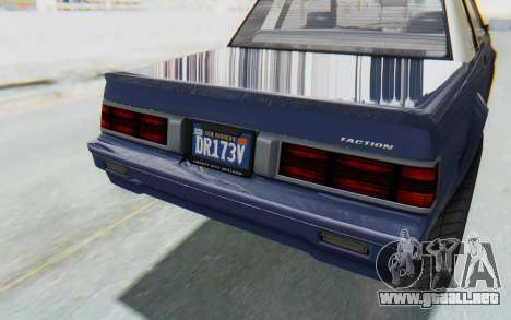 GTA 5 Willard Faction Custom Donk v3 IVF para vista lateral GTA San Andreas
